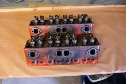 1967-1971 Corvette C2 C3 327/350,Cylinder Head (Pair),Cast No#12529093,Part No#3970126,H/21/9,Used